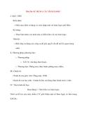 Giáo án Tin Học Văn Phòng: Bài 26: SỬ DỤNG CÁC HÀM LOGIC I. MỤC TIÊU Kiến thức: o Hiểu mục đích sử dụng