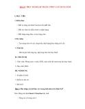 Giáo án Tin Học Văn Phòng: BÀI 27: THỰC HÀNH LẬP TRANG TÍNH VÀ SỬ DỤNG HÀM