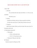 Giáo án Tin Học Văn Phòng: Bài 28: DANH SÁCH DỮ LIỆU VÀ SẮP XẾP DỮ LIỆU