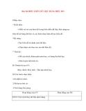 Giáo án Tin Học Văn Phòng: Bài 30: BIỂU DIỄN DỮ LIỆU BẰNG BIỂU ĐỒ