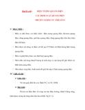 Vât lý 12 Phân ban: Bài 59 + 60 :  HIỆN TƯỢNG QUANG ĐIỆN CÁC ĐỊNH LUẬT QUANG ĐIỆN THUYẾT LƯỢNG TỬ ÁNH SÁNG