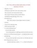 Giáo án Tin Học Văn Phòng: BÀI 7. ÔN LẠI MỘT SỐ KHÁI NIỆM CƠ BẢN VỀ WORD ĐỊNH DẠNG VĂN BẢN