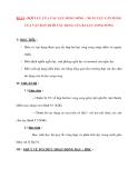 Vật lý 12 Phân ban: BÀI 9 : HỢP LỰC CỦA CÁC LỰC SONG SONG – NGẪU LỰC CÂN BẰNG CỦA VẬT RẮN DƯỚI TÁC DỤNG CỦA BA LỰC SONG SONG