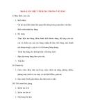 Giáo án Tin Học Văn Phòng: Bài 9: LÀM VIỆC VỚI BẢNG TRONG VĂN BẢN