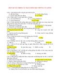 Vật Lý 12: BÀI TẬP XÁC ĐỊNH CÁC ĐẠI LƯỢNG ĐẶC TRƯNG CỦA SÓNG