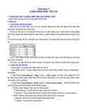 Giáo trình học Excel: Chương V CHÈN HÌNH ẢNH - ĐỒ THỊ