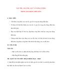 Vật lý 12 Phân ban: VẬN TỐC, GIA TỐC, LỰC VÀ NĂNG LƯỢNG TRONG DAO ĐỘNG ĐIỀU HÒA