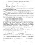 Ôn thi đại học - Vật lý và tuổi trẻ (điện xoay chiều - điện từ trường)