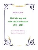 Đề tài : chiến lược phát triển kinh tế xã hội 2011-2020