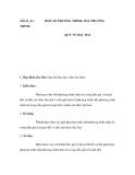 Tiết 61_62 : TRÌNH  MỘT SỐ PHƯƠNG TRÌNH, BẤT PHƯƠNG  QUY VỀ BẬC HAI