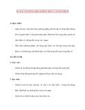 Vật lý 11 chương trình nâng cao: 14. BÀI TẬP DÒNG ĐIỆN KHÔNG ĐỔI VÀ NGUỒN ĐIỆN