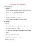 Vật lý 11 chương trình nâng cao: 33-34 DÒNG ĐIỆN TRONG CHÂN KHÔNG
