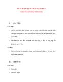 Vật lý 11 chương trình chuẩn: Bài 10. GHÉP NGUỒN ĐIỆN THÀNH BỘ