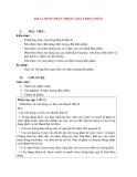 Vật lý 11 chương trình chuẩn: Bài 14. DÒNG ĐIỆN TRONG CHẤT ĐIỆN PHÂN