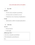 Vật lý 11 chương trình chuẩn: Bài 16. DÒNG ĐIỆN TRONG CHÂN KHÔNG
