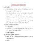 Vật lý 11 chương trình nâng cao: 1. ĐIỆN TÍCH – ĐỊNH LUẬT CULÔNG