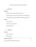 Vật lý 11 chương trình chuẩn: Bài 30. GIẢI BÀI TOÁN VỀ HỆ THẤU KÍNH