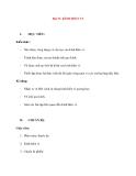 Vật lý 11 chương trình chuẩn: Bài 33. KÍNH HIỂN VI
