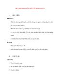 Vật lý 11 chương trình chuẩn: Bài 9. ĐỊNH LUẬT ÔM ĐỐI VỚI ĐOẠN MẠCH