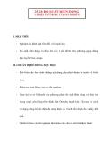 Vật lý 11 chương trình nâng cao: 25-26 ĐO SUẤT ĐIỆN ĐỘNG VÀ ĐIỆN TRỞ TRONG CỦA NGUỒN ĐIÊN