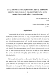 """Báo cáo nghiên cứu khoa học đề tài """" KẾT QUẢ ĐÁNH GIÁ TỔNG HỢP CÁC ĐIỀU KIỆN TỰ NHIÊN BẰNG PHƯƠNG PHÁP CẢNH QUAN CHO PHÁT TRIỂN NÔNG - LÂM NGHIỆP Ở HUYỆN HẢI LĂNG, TỈNH QUẢNG TRỊ  """""""