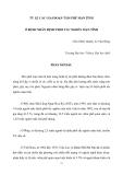 """Báo cáo nghiên cứu khoa học đề tài """" TỶ LỆ CÁC GIAI ĐOẠN TÂM PHẾ MẠN TÍNH  Ở BỆNH NHÂN BỆNH PHỔI TẮC NGHẼN MẠN TÍNH """""""