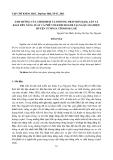 """Báo cáo nghiên cứu khoa học đề tài """" Ảnh hưởng của thời điểm và phương pháp bón đạm, lân và kali đến năng suất cà phê vối kinh doanh tại xã Quảng Hiệp, huyện Cưmnga tỉnh Đăk Lăk """""""