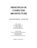 PRINCIPLES OF COMPUTER ARCHITECTURE phần 1
