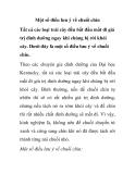 Một số điều lưu ý về chuối chín