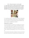 """E102 – Một chất nguy hại mang tên """"màu thực phẩm"""""""