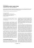 """Báo cáo y học: """"Computational models in systems biology"""""""