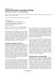 """Báo cáo y học: """"Mathematical models in mammalian cell biology"""""""
