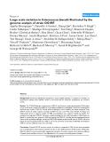 "Báo cáo y học: "" Microbiology and Molecular Genetics, University of Texas Medical School, Houston, Texas 77030, USA"""