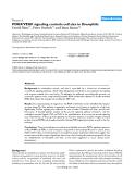 """Báo cáo y học: """" PDGF/VEGF signaling controls cell size in Drosophila"""""""