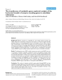"""Báo cáo y học: """"The transferome of metabolic genes explored: analysis of the horizontal transfer of enzyme encoding genes in unicellular eukaryotes"""""""