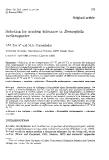 "Báo cáo sinh học: ""Selection for acrolein tolerance in Drosophila melanogaster"""