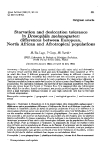 """Báo cáo sinh học: """" Starvation and desiccation tolerance in Drosophila melanogaster: differences between European, North African and Afrotropical populations"""""""