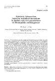"""Báo cáo sinh học: """"Epistatic interaction between unlinked inversions in Indian natural populations of Drosophila melanogaster"""""""