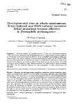"""Báo cáo sinh học: """"Developmental time at which spontaneous, X-ray-induced and EMS-induced recessive lethal mutations become effective in Drosophila melanogaster"""""""
