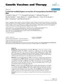 "Báo cáo sinh học: ""Lentiviral-mediated gene correction of mucopolysaccharidosis type IIIA"""