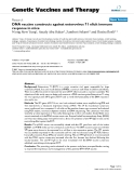 "Báo cáo sinh học: ""DNA vaccine constructs against enterovirus 71 elicit immune response in mice"""
