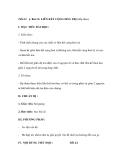 Bài 13: LIÊN KẾT CỘNG HOÁ TRỊ (tiếp theo)