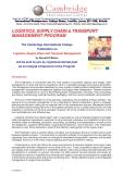 Logistics supply chain transport management phần 1