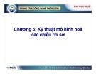 Kho dữ liệu và Hệ hỗ trợ quyết định ( Nguyễn Thanh Bình ) - Chương 5