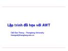Lập trình đồ họa với AWT - Phần 1