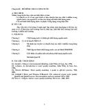 Bài giảng MÔ HÌNH CHẤT LƯỢNG NƯỚC - CHƯƠNG 1