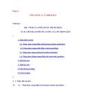 Ô NHIỄM ĐẤT - PHẦN 2 NÔNG DƯỢC & Ô NHIỄM ĐẤT - CHƯƠNG 3