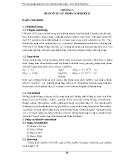 PHƯƠNG PHÁP PHÂN TÍCH CÁC CHỈ TIÊU MÔI TRƯỜNG ( ThS. ĐINH HẢI HÀ ) - CHƯƠNG 3