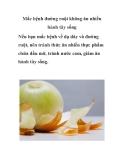 Mắc bệnh đường ruột không ăn nhiều hành tây sống