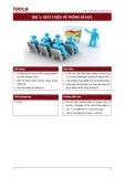 Giáo trình nguyên lý thống kê - Bài 1